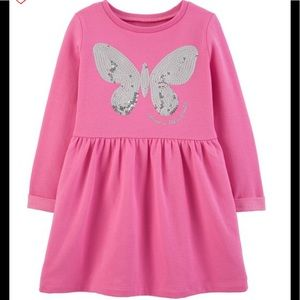Carter's sequin butterfly dress